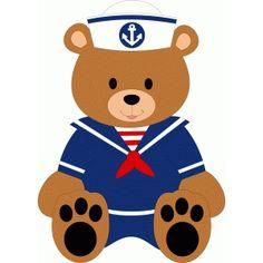 Silhouette Design Store - Search Designs : sailor bear