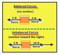 unbalanced and balanced forces activity worksheet middle school rh pinterest com Unbalanced Forces Examples Unbalanced Forces Vectors