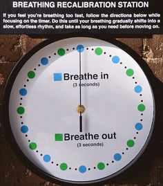 Breathing Exercises For Stress | POPSUGAR Smart Living<<< This is genius and I tried it! Works fab
