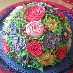 Blumenwiesen Torte 😍