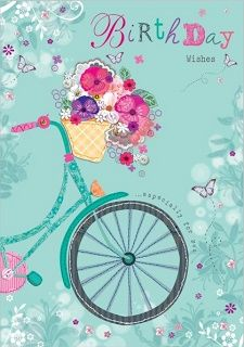 May your bicycle basket always be filled with fresh flowers!