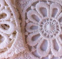 Embroidered lace #fashion #trimmings