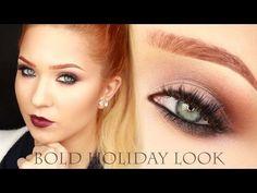 kitulec beauty blog: TUTORIAL: Bold Holiday Look - Makijaż Świąteczny + UPDATE