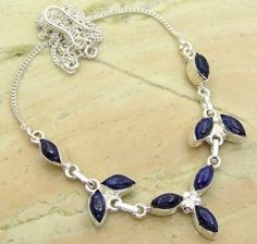 6.75ctw Genuine Lapis & .925 Sterling Silver Plated Brass Necklace (SJHN0081LAPIS) #fashionnecklaces #beautifulnecklaces #cheapnecklaces #silvernecklacesforwomen #necklacependants #silvernecklaceslong #silvernecklace #personalizednecklaces #womensnecklace #silvernecklaceformen #menssilvernecklace #mennecklaces #mensnecklaces #gemstone necklaces Buy Now:  http://www.sterlingsilverjewelry.tv/genuine-lapis-silver-plated-brass-y-necklaces-sjhn0081lapis.html