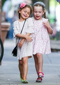 Tabitha and Marion Broderick-Parker.  How cute are these two?