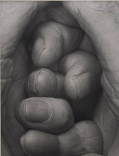 John Coplans, Self-portrait, Interlocking Fingers No. 19, 2000