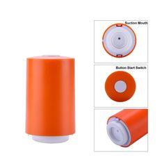 Mini Handy Vacuum Sealer Handheld Vacuum Sealing Machine Small Kitchen Appliance For Food Saver Storage Orange ** Check out the image by visiting the link. (This is an affiliate link) Toasters, Juicers, Vacuum Sealer, Handheld Vacuum, Small Kitchen Appliances, Ovens, Orange, Mini, Check
