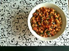 """Moroccan Zucchini Garbanzo """"Tagine"""""""