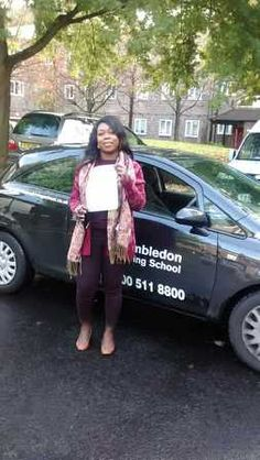 Well done to Sasha Dodds from #Battersea who passed her test in Morden.