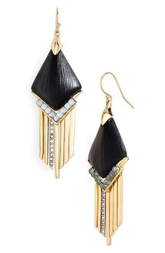 Alexis Bittar 'Lucite®' Chevron Drop Earrings available at #Nordstrom