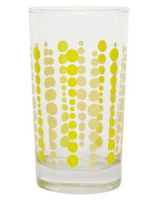 Yellow Dots Party Glass, Fishs Eddy. Shop more glasses from the Fishs Eddy collection online at Liberty.co.uk
