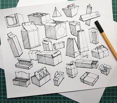 Interior Design Sketches, Industrial Design Sketch, Sketch Design, Basic Sketching, Technical Drawing, Cartoon Sketches, Drawing Sketches, Sketch Inspiration, Design Inspiration