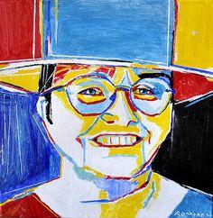 Betty G. Miller by Nancy Rourrke, Deaf Artist  I met her few wks ago    amazing artist