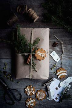 Geschenkanhänger für das Weihnachtsfest