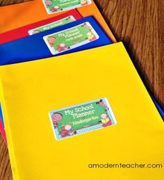 Setting Up Routines for Student Success {with a useful and easy tool}