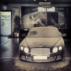 Abandon Bentley Dealership.... I'll take it if nobody else wants it......