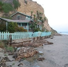 I would love to spend a week in each of these hot historic homes by the sea!    But only the Crystal Cove Cottages  in California are availa...