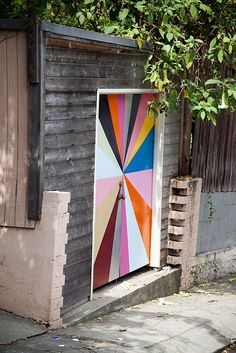 fun idea for an old shed or the likes...