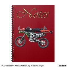 FMX - Freestyle Aerial Motocross Stunt III Notebooks