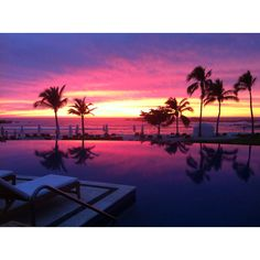 "Magic Sunset at ""Sea Breeze"" - St. Regis Punta Mita"