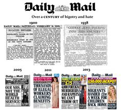 daily mail xenophobia - Google Search