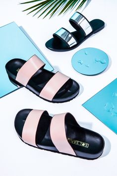 Because your summer wardrobe isn't complete until you've found the perfect pair of slide sandals. #omgshoes