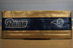 Duct Tape Wallet (Bi-Fold) - St. Louis Rams, $15.  We are also on Etsy at:  www.junorduck.etsy.com.