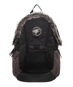 f268234f36f Bioworld Game of Thrones Stark Snow Backpack