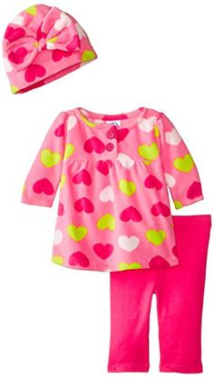 Gerber Baby Girls' 3 Piece Micro Fleece Top Cap and Legging Set, Hearts, 3 6 Months Gerber http://www.amazon.com/dp/B00W4T72P6/ref=cm_sw_r_pi_dp_Vwa0vb0K20V77