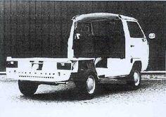 Chassis of VW T3 as basis for Karmann Gipsy