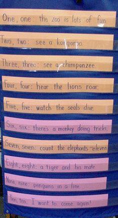 zoo poem counting to ten Animal Activities, Teaching Activities, Teaching Ideas, Preschool Zoo Theme, Beginning Of School, Middle School, High School, Zoo Crafts, Zoo Project