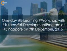 """#TSDP, a #THS-initiative for #MedicalWritingTraining, is organizing #ELearningWorkshop on """"Best Practices to Publish with Special Sessions on #DataSharing and #Methodology of #SystematicReview"""" on 9th #Dec, 20-16 at #Singapore. To get more info, please write to us at hello@turacoz.in, pooja@Turacoz.com, sunita.gadale@Turacoz.com and call us 011-47039856."""
