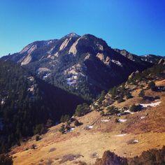 Bear Peak as seen from NCAR ~ Boulder, Colorado