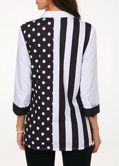 Three Quarter Sleeve Shop Womens Fashion Tops, Blouses, T Shirts, Knitwear Online Older Women Fashion, Black Women Fashion, Womens Fashion, Cheap Fashion, Fashion Story, Fashion Outfits, Fashion Boots, Fashion Clothes, Fashion Trends