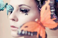 Paper lashes Deer & Butterfly