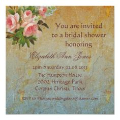 Victorian Pink Rose Tea Party Invitations How toReview from Associated Store with this Deal...
