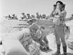 In the First Battle of El Alamein, from July 1st to 27th, 1942, Allied Forces (Great Britain, British India, Australia, New Zealand and South Africa)