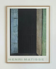 Henri Matisse Poster 1986 – hellethygesen.com Henri Matisse, Denmark, Frame, Antiques, Poster, Home Decor, Art, Picture Frame, Antiquities