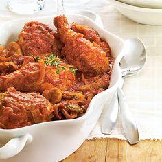 Slow-Cooked Chicken Cacciatore - Wegmans