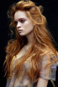 Dark Strawberry Blond..i would love to see this hair colour at my friend <3