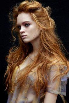 Dark Strawberry Blond | Goldilocks | Beautiful Haircolour