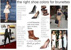 Shoes for Brunettes