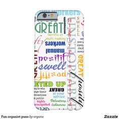 Fun organist puns iPhone SE/5/5s case