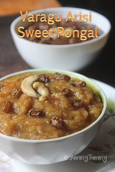 Super delicious and healthy millets pongal which taste really yummy. An alternative for your regular pongal. Try this millet one for this pongal. Sakkarai Pongal Recipe, Goan Recipes, Indian Food Recipes, Sweet Recipes, Millet Recipe Indian, Navratri Recipes, Millet Recipes, Breakfast Recipes