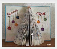 Image - Pliage de livre - le sapin - FLEUR DE PATCH - Skyrock.com