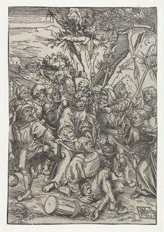 Gevangenneming van Christus, Lucas Cranach (I), 1509 - Rijksmuseum Passion Christi, Apocalypse, Every Knee Shall Bow, 16th Century Clothing, Main Image, Lucas Cranach, Jesus Is Coming, Albrecht Durer, Acanthus