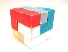 DIY Wood Puzzle Cube