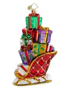 Image detail for -Christopher Radko Christopher Radko Gifts on the Go Ornament