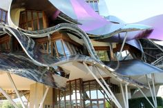 Hotel Marqués de Riscal, what a beautiful place! http://enobytes.com/2013/09/28/marques-riscal/