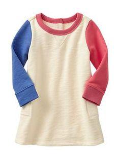 Paddington Bear™ for babyGap colorblock sweatshirt dress - A limited edition Paddington Bear™ collection for your newest little additions. Adventure awaits! | #babygirl